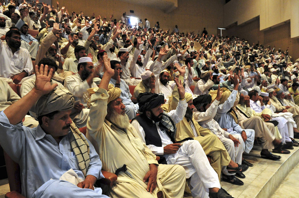 Operations and wining hearts in FATA by AIMAL KHATTAK