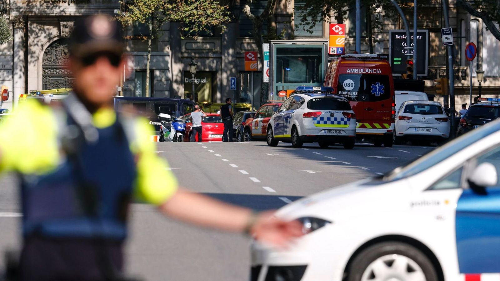 BARCELONA VAN ATTACK; 1 KILLED AND 32 INJURED