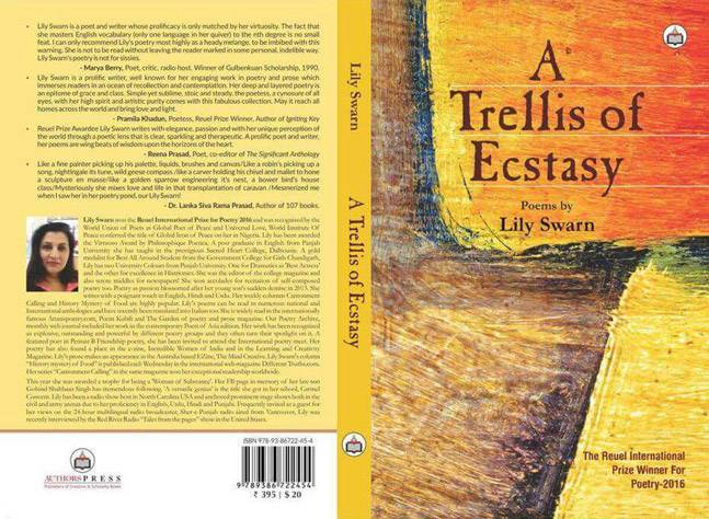 Reviewing A Treliss of Ecstacy by Perveiez Ali